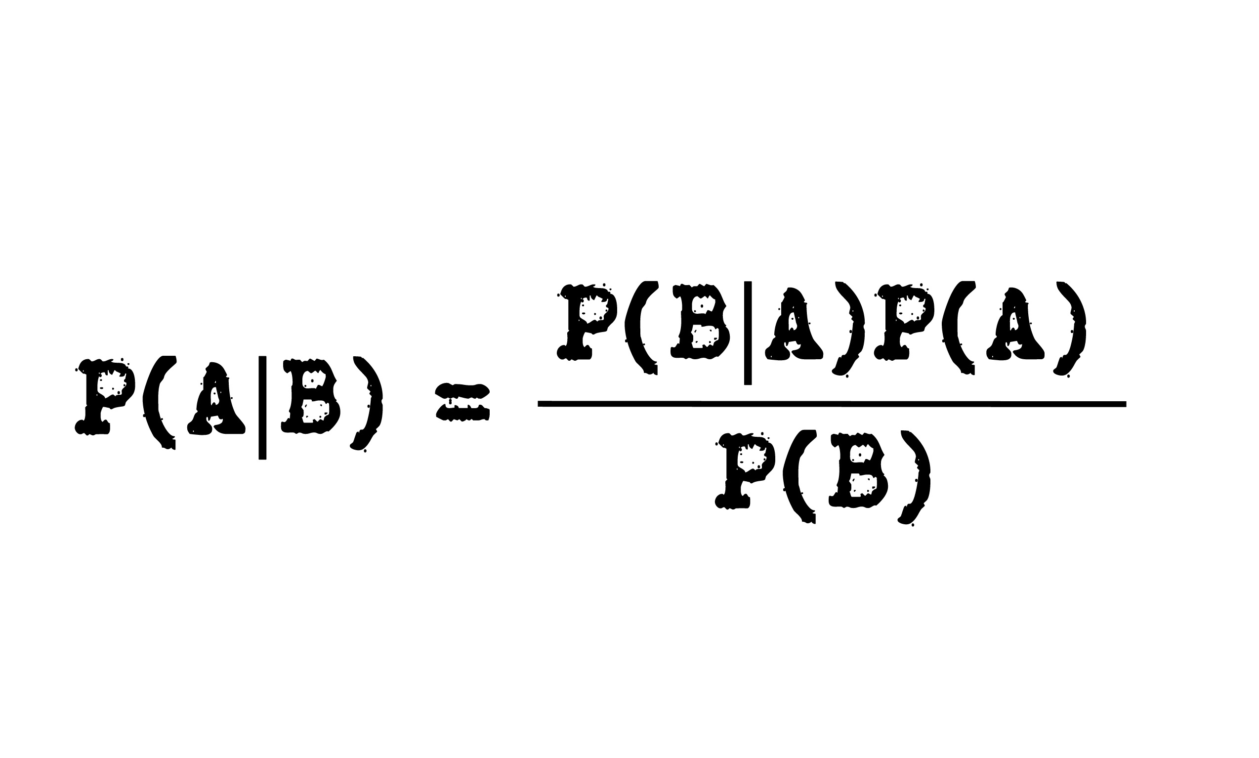 bayes theorem and its application pdf